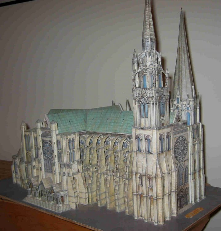 Paper Models Of French Cathedrals Part 1